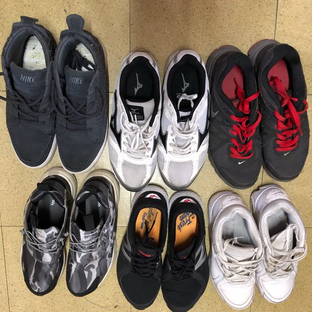 很多穿不到的鞋子!大多都蠻新的都在9-10號