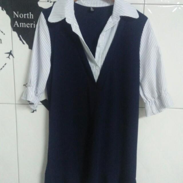 全新✨白媽媽魚尾洋裝