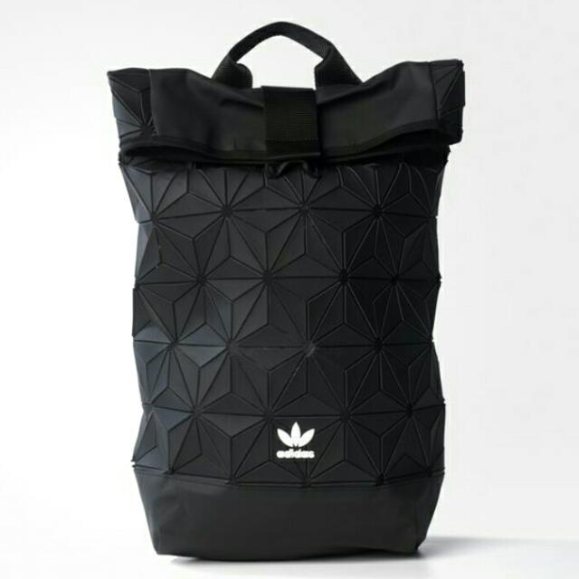 🆕 Adidas BP Roll Top 3D Backpack b5224bc742541