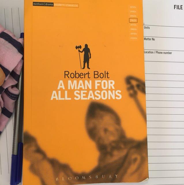 A man for all seasons - Robert Bolt