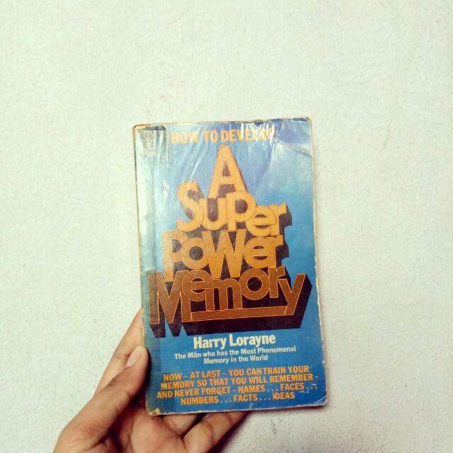 A Super Power Memory Book