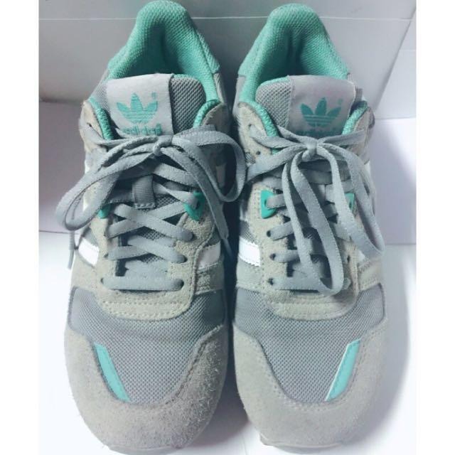 adidas正品愛迪達女鞋/湖水綠灰配色👟