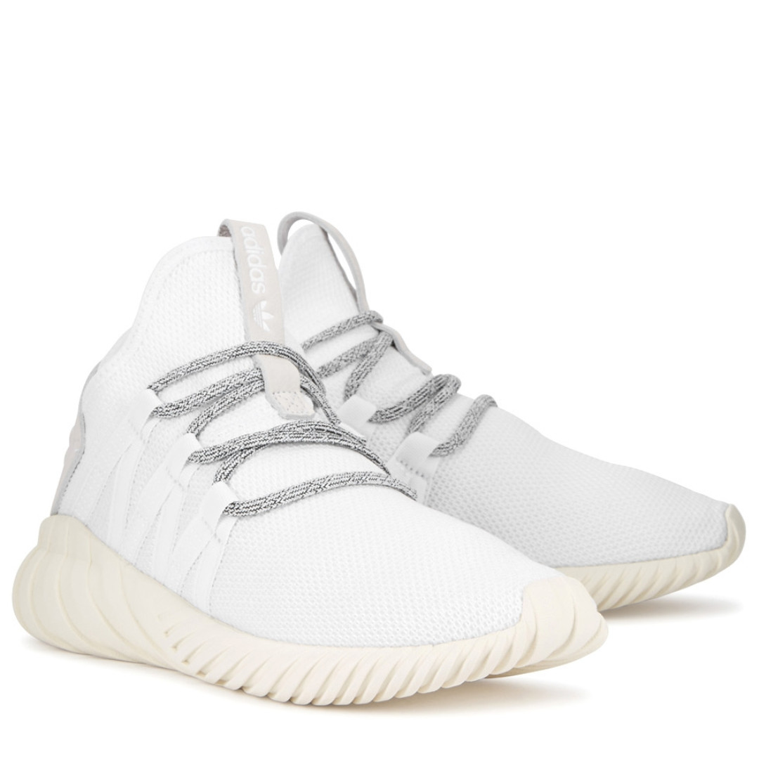 san francisco f6d2b 42880 ADIDAS ORIGINALS Tubular Dawn white mesh trainers