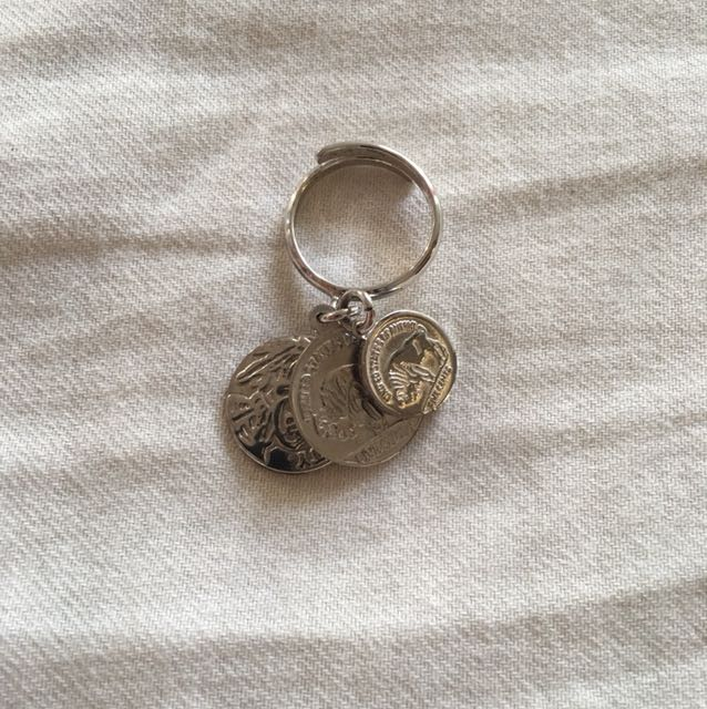 Adjustable coin ring