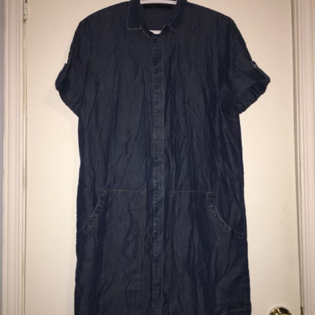All Saints Jean Dress