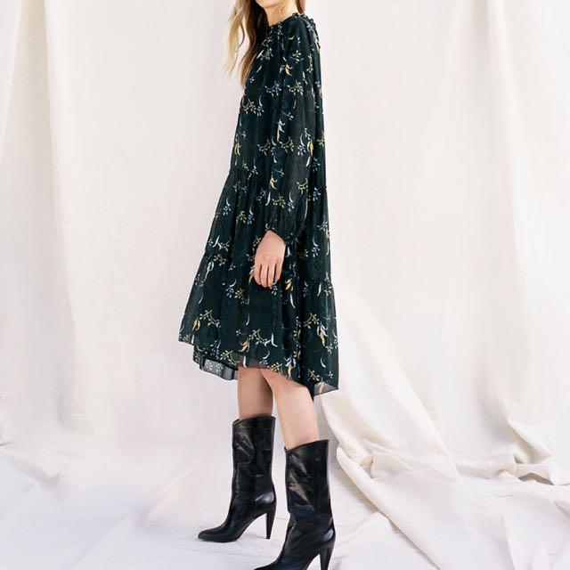 Aritzia Wilfred Le Fou Leman dress