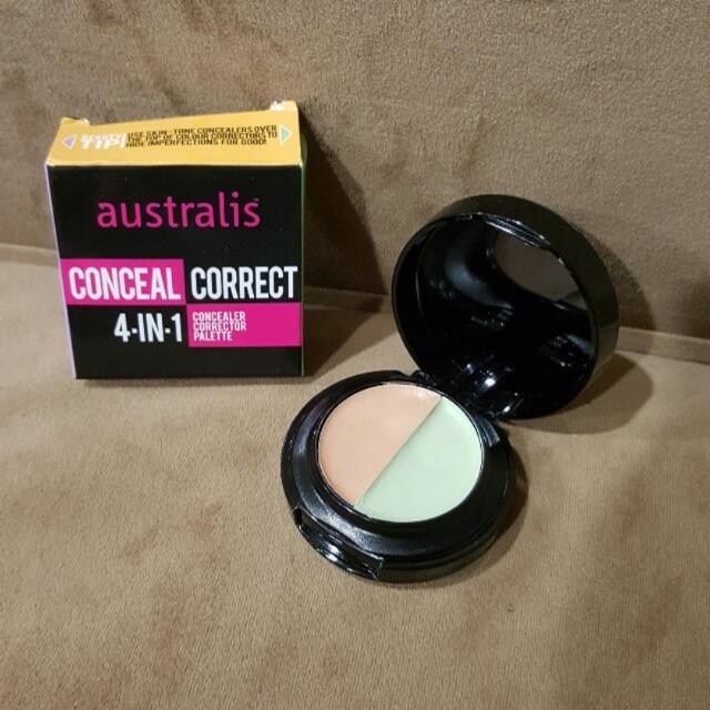 Australis Concealer Corrector 4-in-1 Palette
