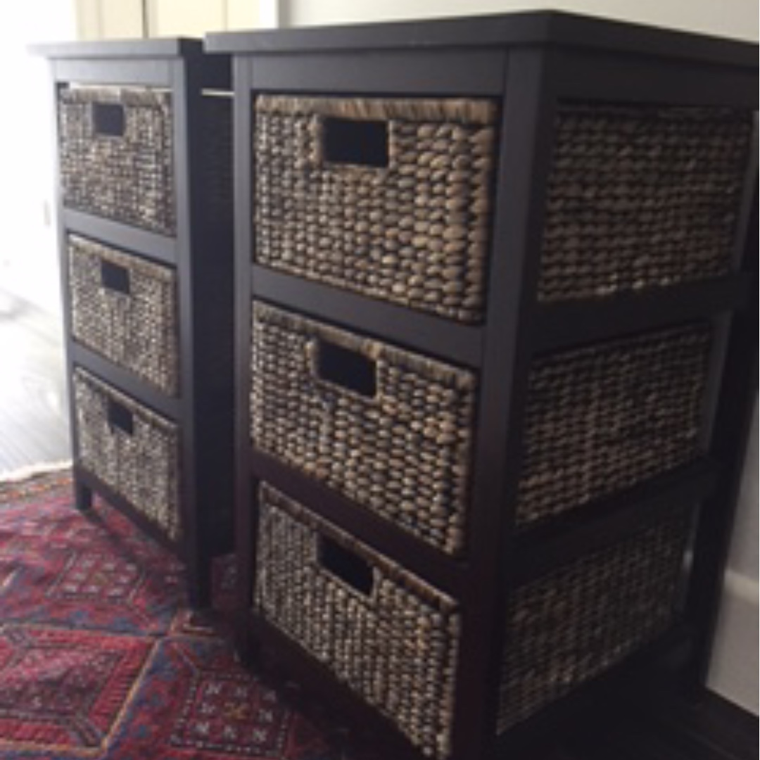 Bedside tables + drawers