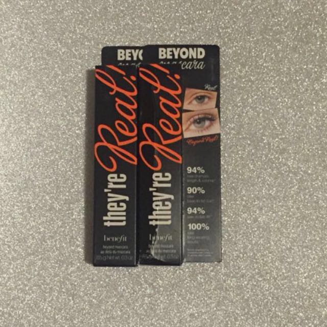 Benefits They're real Mascara - 2 Available
