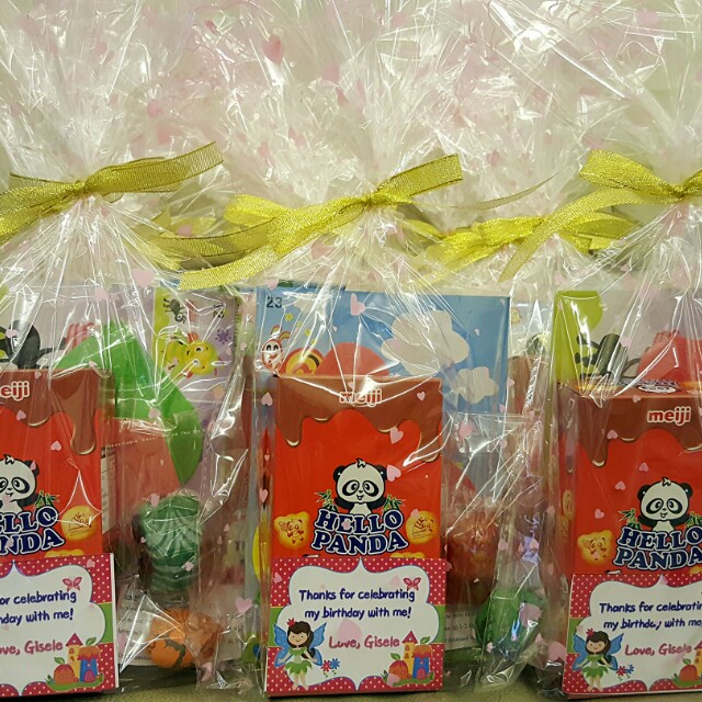 Birthdaychristmaschildrens Day Goodie Bags With Customized Tags