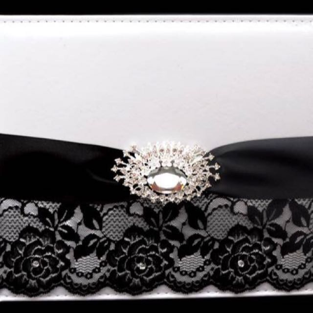 Black Beauty Wedding Guestbook