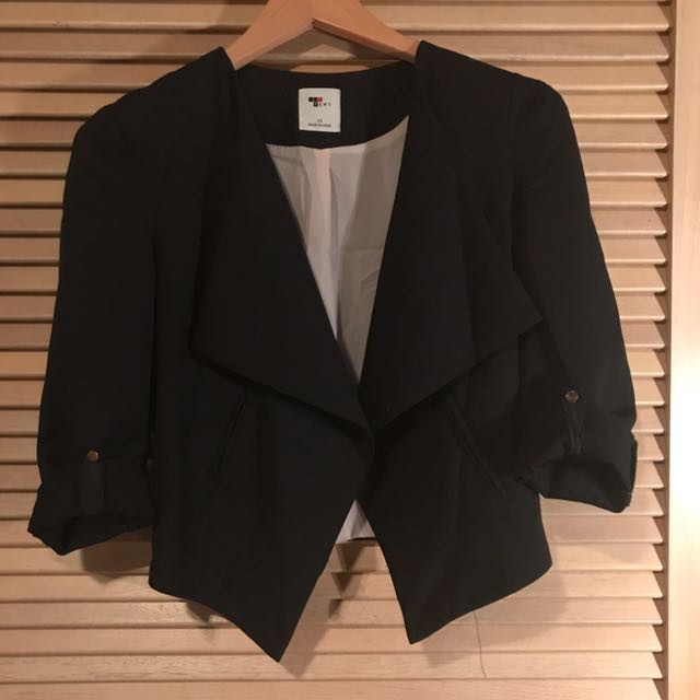 Black fashion jacket
