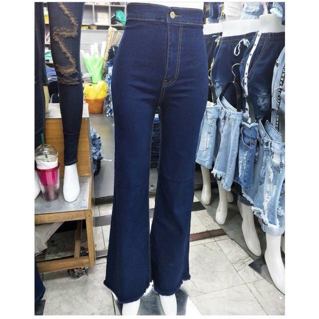 Blue jeans cutbray L *freeongkir