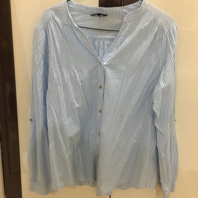 Blue Square Shirt