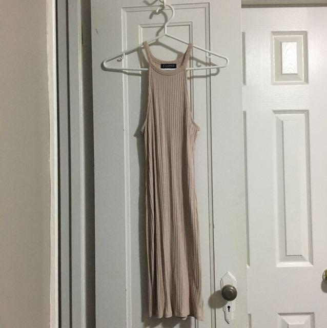 Blush Bodycon Knit Dress Size M