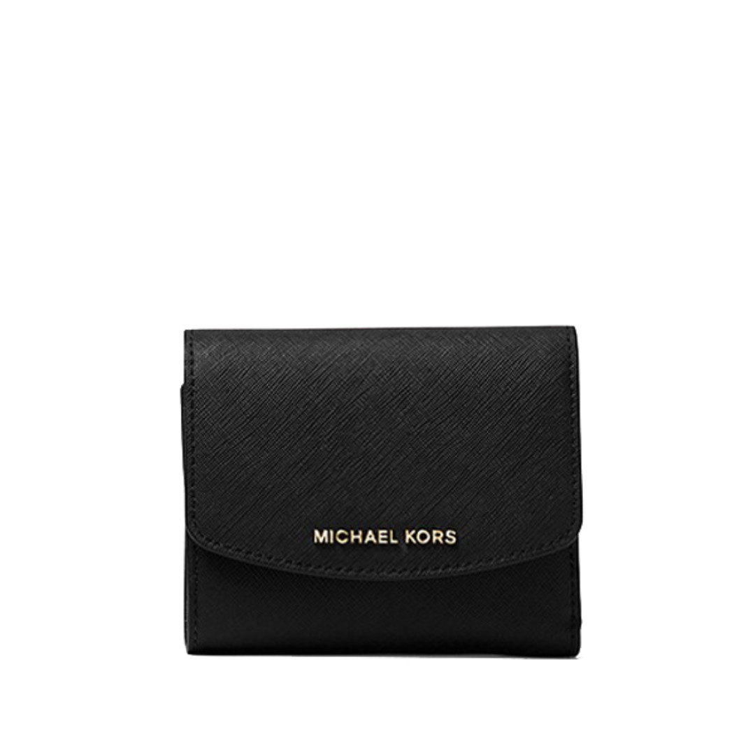 554721d3743f BN Authentic Michael Kors Ava Saffiano Leather Card Holder Wallet, Luxury,  Bags & Wallets on Carousell