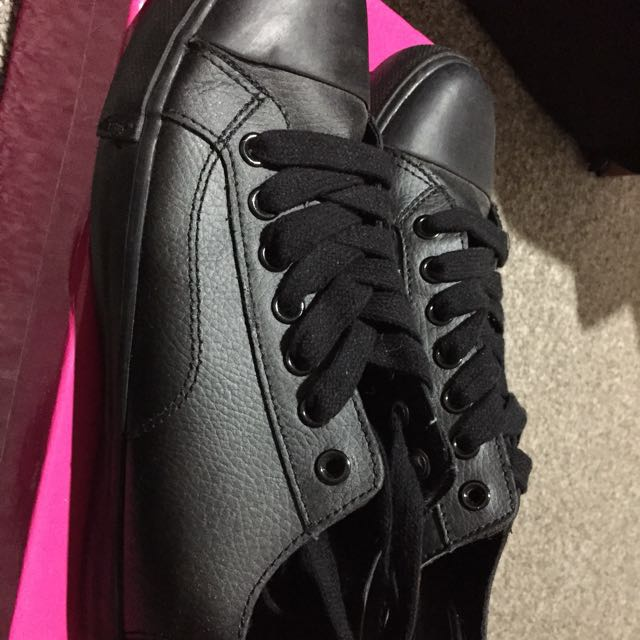 Brand new leather work shoes sneakers