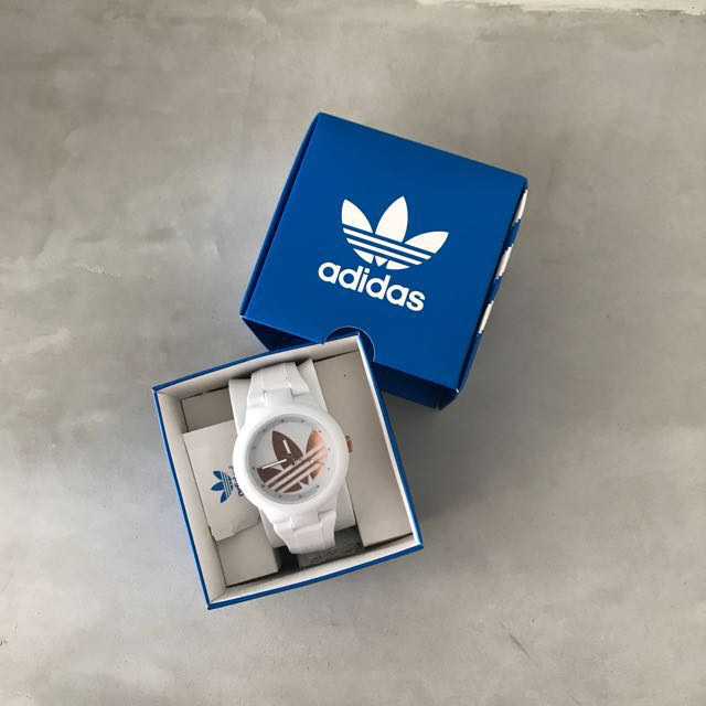 Brand New With Tag And Box Adidas Originals Ladies Watch In White
