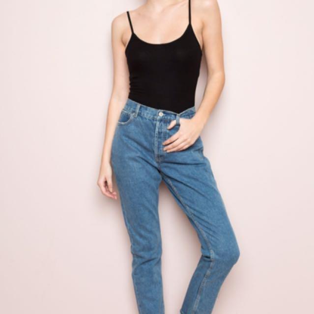 Brandy Melville mom jeans