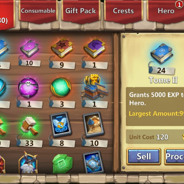 Castle clash 5th acct, Toys & Games, Video Gaming, Video