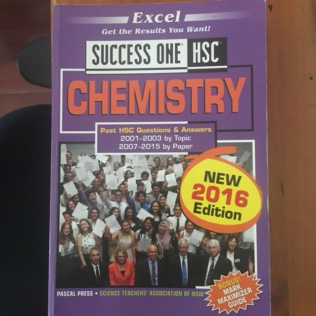 CHEMISTRY SUCCESS ONE TEXTBOOK