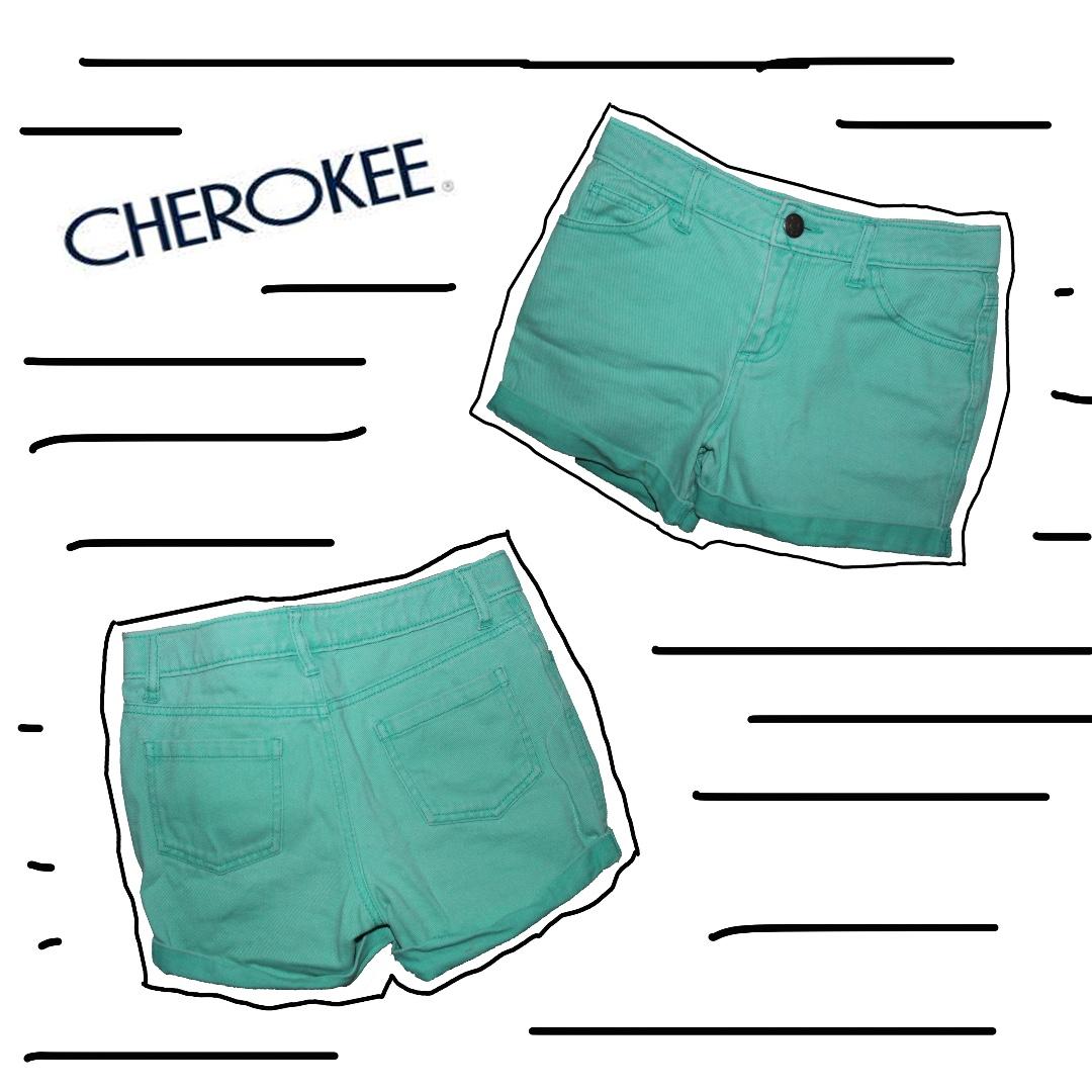 Cherokee Mint Shorts