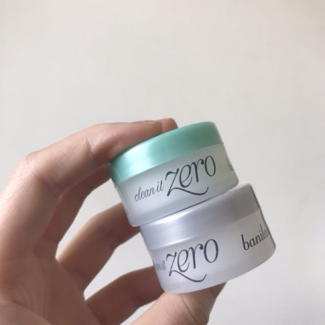Clean it Zero mini cleansers