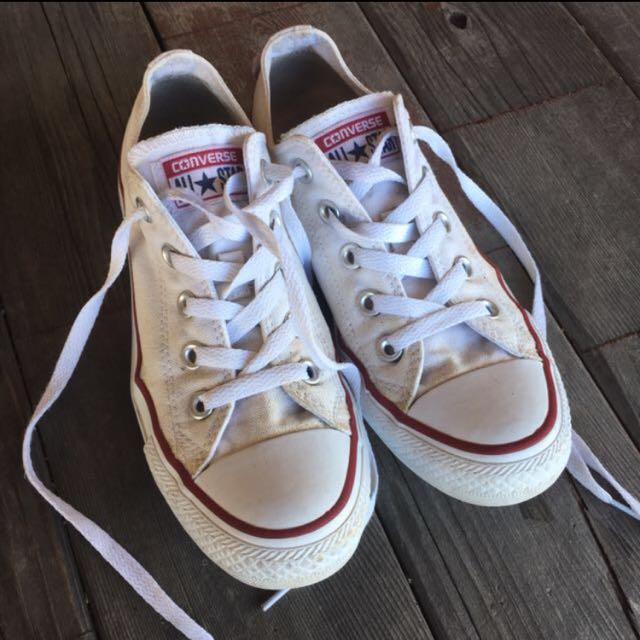 Converse white CTAS