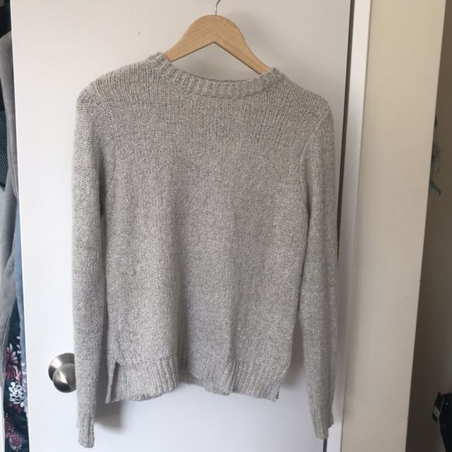 Cream jumper size 8