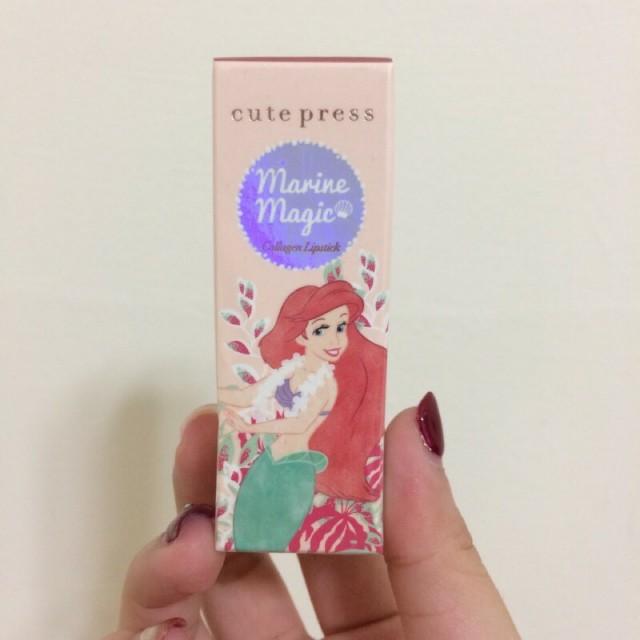 !預購!Cute Press 小美人魚聯名款口紅 乾燥玫瑰色