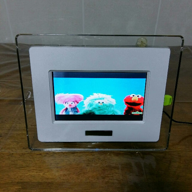 Digital Photo Frame Sd Card Slot And Usb Port Can Play Video Music