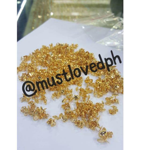 Ear Studs For Babies! 21k Gold From Saudi