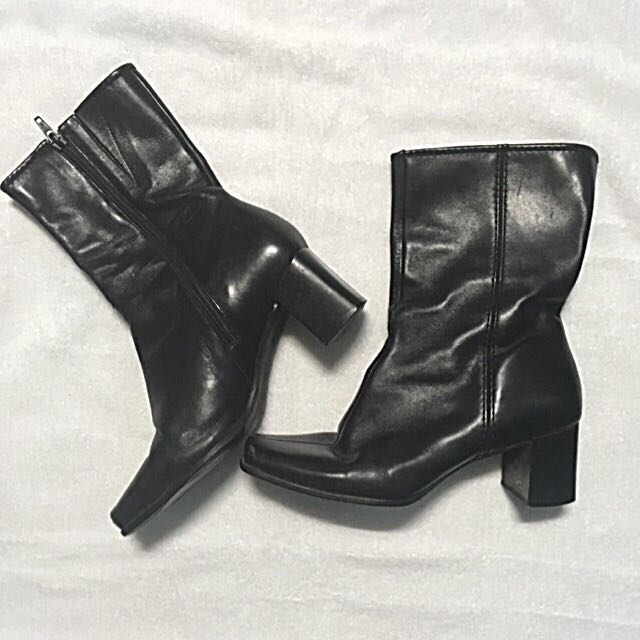 Easy spirit midcalf leather boots