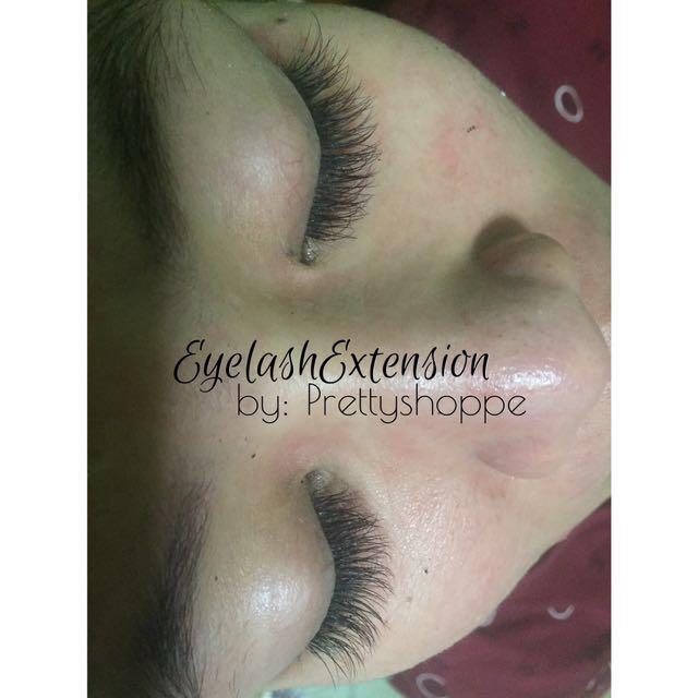 Eyelash Extension Retouch
