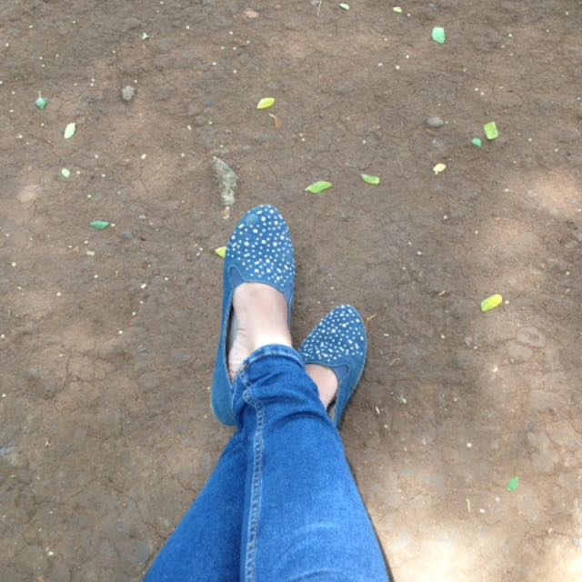 Fladeo flat shoes size 40