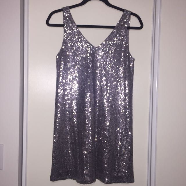 Forever 21 low back sequin dress