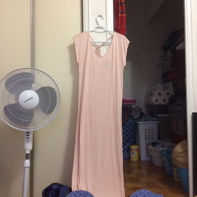 Forever 21 Pink Maxi Dress