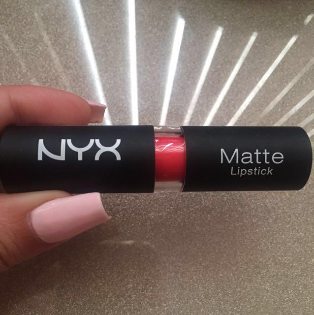 Free NYX Matte Lipstick Indie Flick