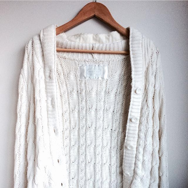 General Issue Knit Cardigan Size S