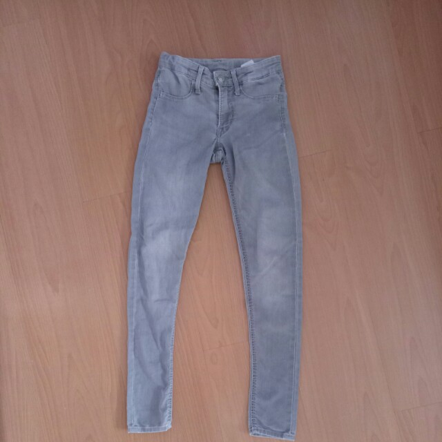 Girls Skinny Jeans Pants Black