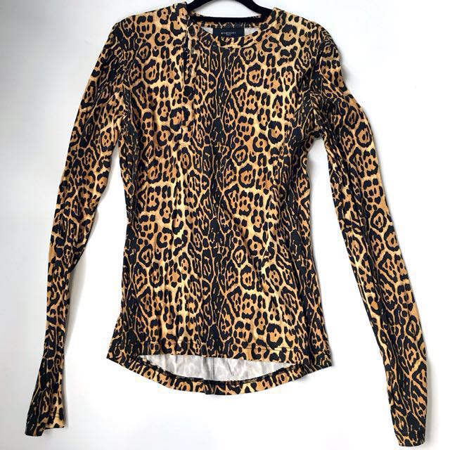 Givenchy leopard prints shirt