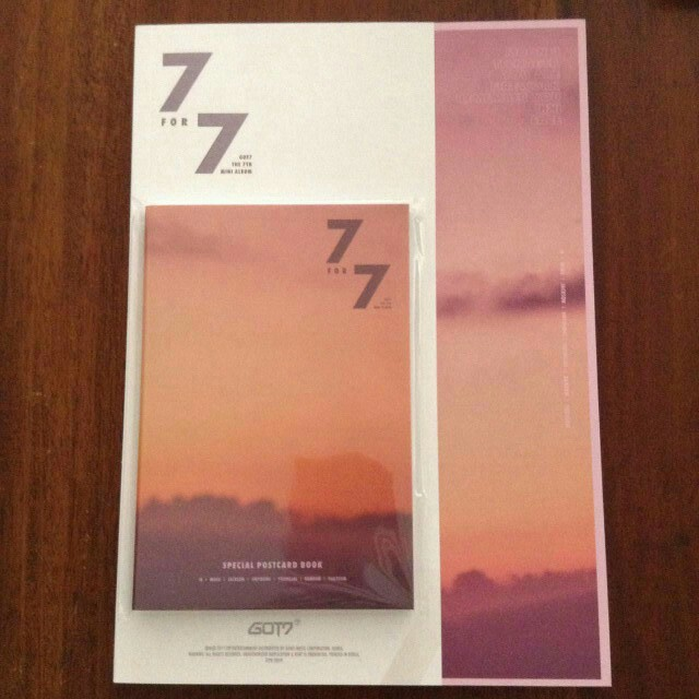 GOT7 - 7For7 (GOLDEN HOUR OR MAGIC HOUR) Poster included!