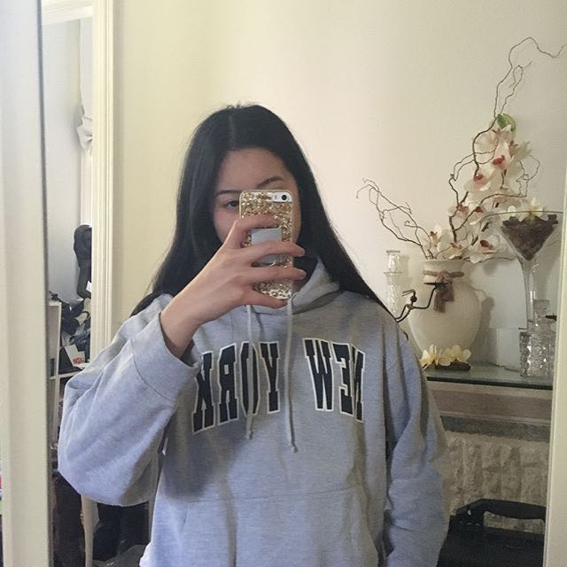 Grey NY Hoodie