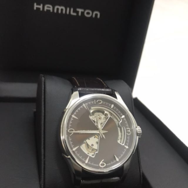 Hamilton Jazzmaster Viewmatic Steel Open Heart Automatic H325650 ... 90e1b622a57