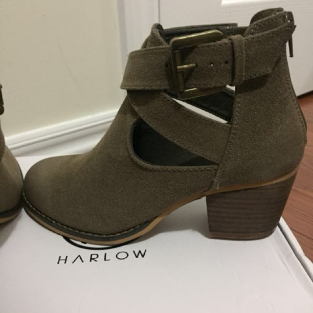 Harlow Ankle Boots Size 6