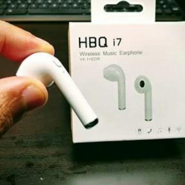 HBQ i7 Wireless Earphone
