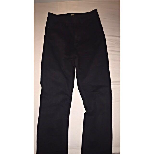 High Waisted Lee Jeans
