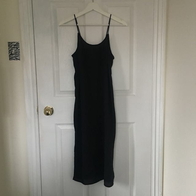 H&M Crepe Slip Dress
