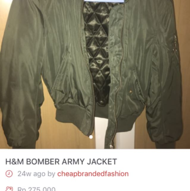 HNM ARMY JACKET