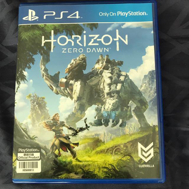 Horizon new dawn PS4